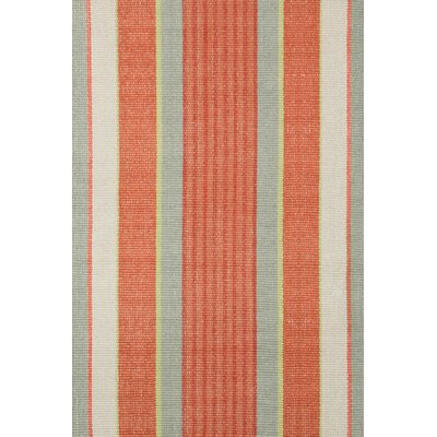 Dash and Albert Rugs Woven Orange Autumn Stripe Area Rug RDA194