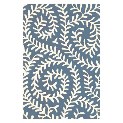 Tufted Vine Denim Area Rug by Dash and Albert Rugs
