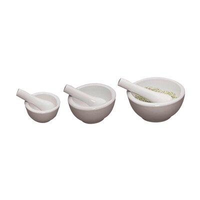 Fox Run Craftsmen Porcelain Mortar and Pestle Set