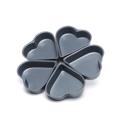 Non-Stick Linked Heart Pan by Fox Run Craftsmen