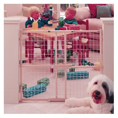 Wide Wire Mesh Gate by North States