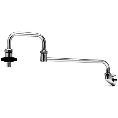 T&S Brass One Handle Wall Mount Pot Filler Faucet