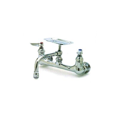 Wall Mounted Faucets with Soap Dish by T&S Brass
