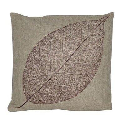 Cheungs Leaf Linen Throw Pillow