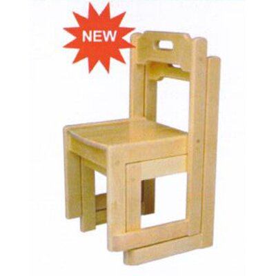 A+ Child Supply Birch Stackable Kid's Chair