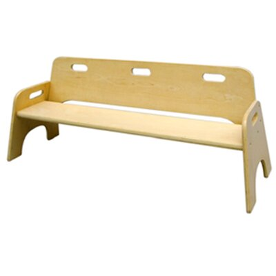 A+ Child Supply Stackable Kid's Bench