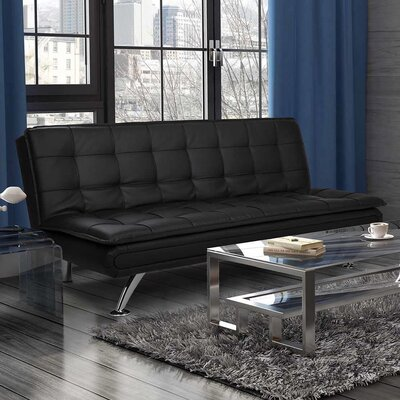 Broadway Premium Convertible Pillow Top Futon by DHP