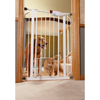 Extra Tall Pet Gate with Door by Carlson Pet