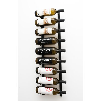 VintageView 9 Bottle Wall Mounted Wine Rack