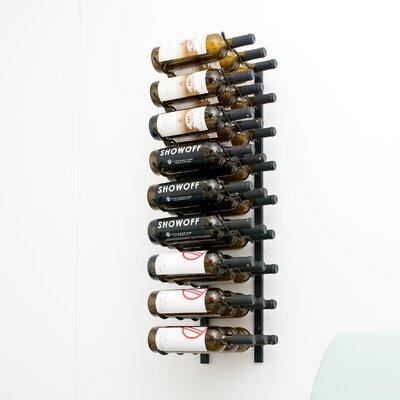 VintageView 27 Bottle Wall Mounted Wine Rack