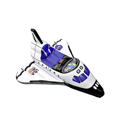 Jr. Space Explorer Inflatable Space Shuttle Pool Toy by Aeromax