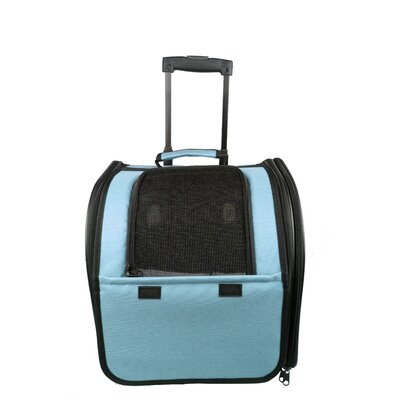 Airline Approved Wheeled Travel Pet Carrier by Pet Life