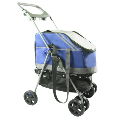 Outdoors Convertible Pet Stroller by Pet Life