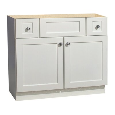 "Coastal Collection Cape Cod Series 36"" Maple Bathroom Vanity Base"