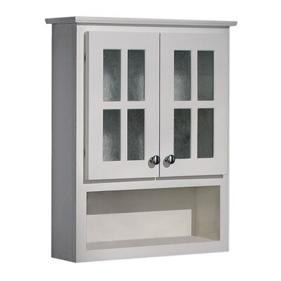 """Coastal Collection Cape Cod Series 25.5"""" x 30.75"""" Wall Mounted Cabinet"""