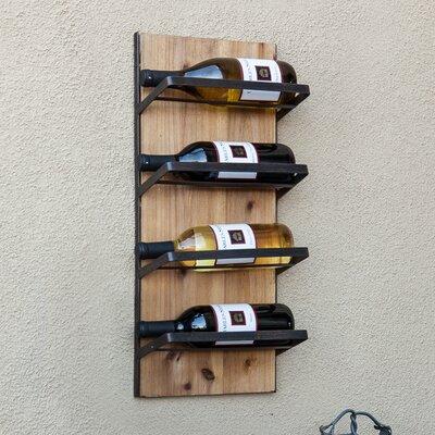 4 Bottle Wall Mount Wine Rack by DanyaB