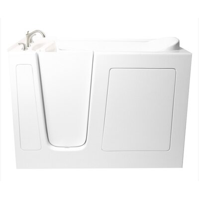 "Ariel Bath 60"" x 26"" Dual Whirlpool Bathtub"