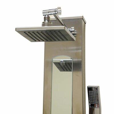 Ariel Bath Stainless Steel Volume Control Shower Panel