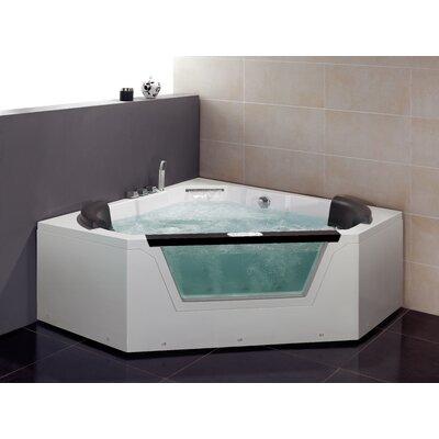 "59"" x 59"" Whirlpool Tub Product Photo"