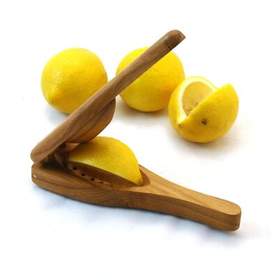 Enrico EcoTeak  Lemon Squeezer in Lacquer
