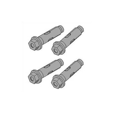 Peerless Concrete Expansion Anchors - 3 anchors