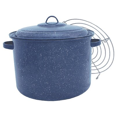 Granite Ware Quart Tamale Multi-Pot with Steamer Insert