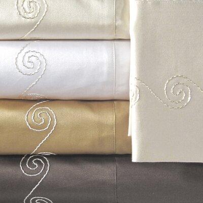 Supreme Sateen 800 Thread Count Swirl Pillowcase by Veratex