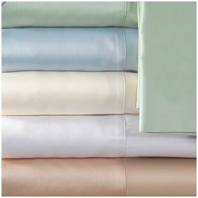 Supreme Sateen 300 Thread Count Solid Pillowcase by Veratex