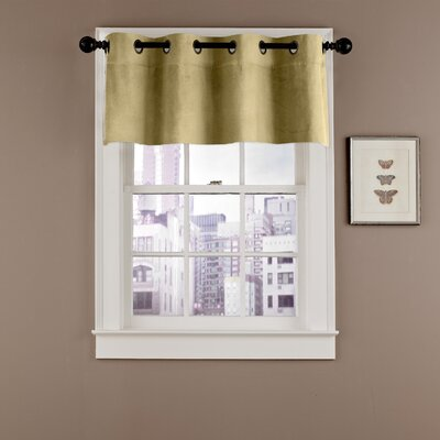 Velvet Soft Luxury Grommet Curtain Valance Product Photo