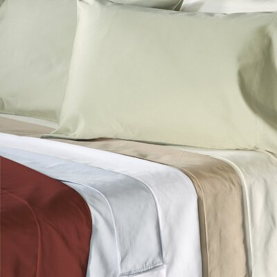 Supreme Sateen 500 Thread Count Solid Pillowcase by Veratex