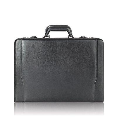 Solo Cases Leather Laptop Attache Case