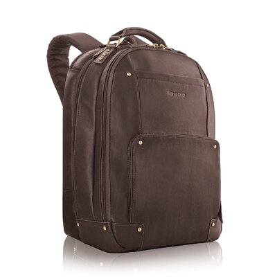 Vintage Leather Laptop Backpack by Solo Cases