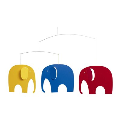 Flensted Mobiles Elephant Party Mobile