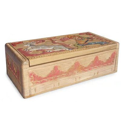 Novica 'Legend of Sita and the Golden Deer I' Box
