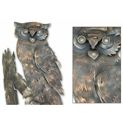Novica 'Curious Owl' Wall Décor