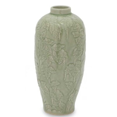 Rampant Vineyard Vase by Novica