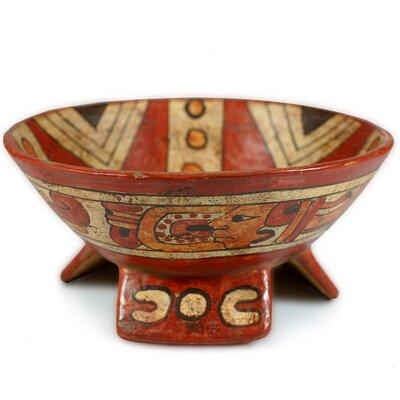 Novica Oscar Rodolfo Mendoza Artisan Fruit of The Maya Ceramic Centerpiece Serving Bowl