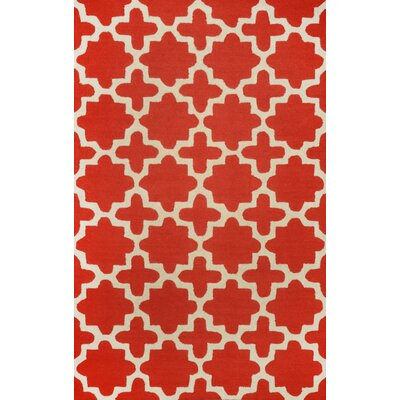 Varanas Red Tiffany Area Rug by nuLOOM