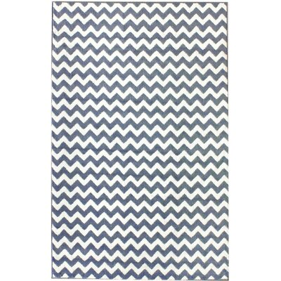 nuLOOM Poise Chevron Light Blue Area Rug Area Rug