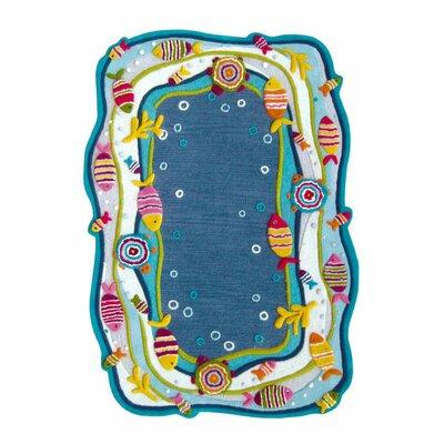 nuLOOM Kinder Under the Ocean Blue Area Rug