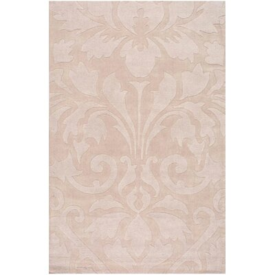 Gradient Sand Damask Area Rug by nuLOOM