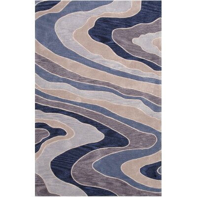 Delma Hand-Tufted Blue Area Rug by nuLOOM