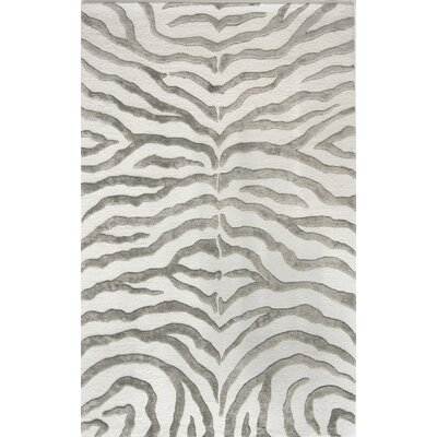 nuLOOM Earth Soft Zebra Gray Area Rug