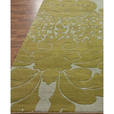 nuLOOM Hudson Damion Grey/Yellow Area Rug