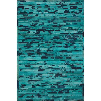 Hudson Turquoise Area Rug by nuLOOM