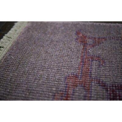 nuLOOM Zem Cobblestone Ashley Purple Area Rug
