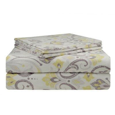 Meadow Flannel Sheet Set by Pointehaven