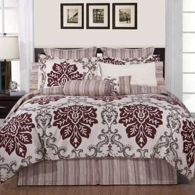 Luxury Ensemble 6 Piece Twin Comforter Set by Pointehaven