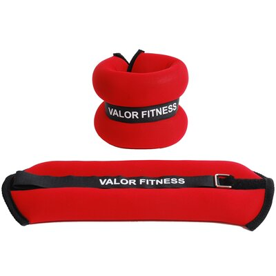 Valor Athletics 3 lbs Ankle Weight Pair