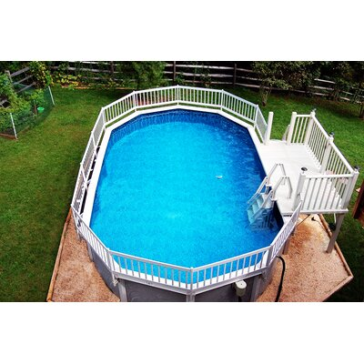 Blue Wave Prime Entry™ In-Pool Step for Above Ground Pools ...